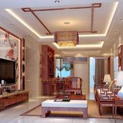 中式风格家居吊顶
