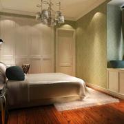 美式风格卧室整体柚木橱柜
