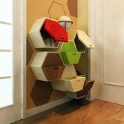 暖色调90平米房屋设计