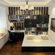 90平米房屋书房装修