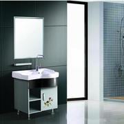 浴室不锈钢浴室柜装修整体图