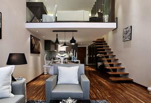 美式简约风格柚木家具装修效果图设计