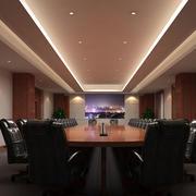 大型会议室射灯装饰