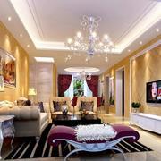 客厅浪漫时尚的灯饰