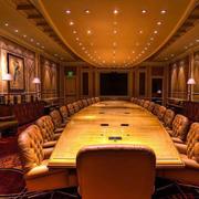 欧式奢华会议室吊顶装修