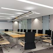 会议室简约风格吊顶效果图