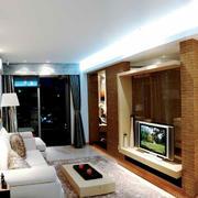 90平米房屋背景墙设计