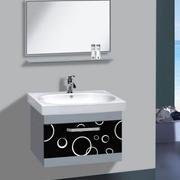 浴室不锈钢浴室柜装修背景墙图