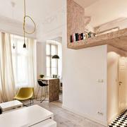 温馨型90平米房屋设计