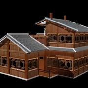 木屋别墅装修造型图