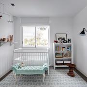 120平米简约式婴儿房设计