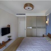 三居室家庭卧室实景图