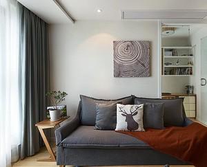 家庭简单新颖沙发背景墙