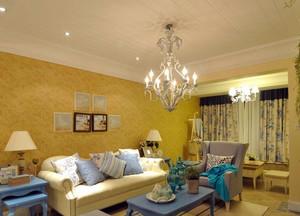 各样式简约风格客厅射灯装饰效果图