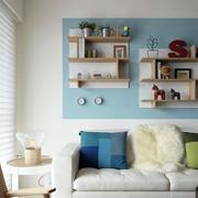 家装客厅创意拉风的置物柜
