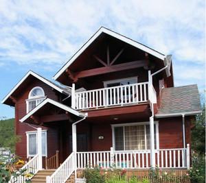 精致唯美的木屋别墅装修效果图