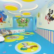 幼儿园壁画设计吊顶图