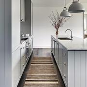 120平米单身公寓式厨房吧台设计