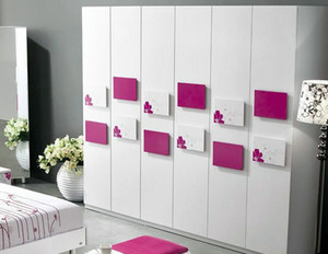 2015全新多样式简约风格整体衣柜装修效果图
