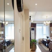 流行的家装镜子设计