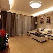 简约风格客厅木地板设计