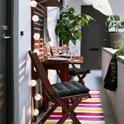 小户型典雅阳台设计