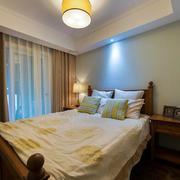 素雅现代家装卧室展示