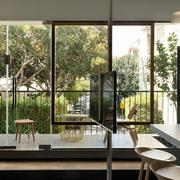 120平米大户型玻璃窗设计