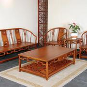 年年红木家具客厅装修吊顶图