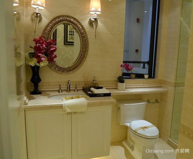 20平米简约风格公寓独立卫生间装修效果图