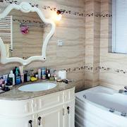简欧风格整体卫生间装饰