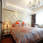 欧式简约风格卧室背景墙