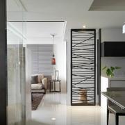 家装开放式客餐厅过道设计