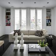 40平米欧式米色沙发设计