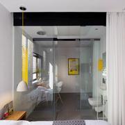 40平米鹅黄背景设计