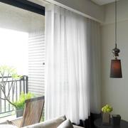 家装阳台窗帘图片