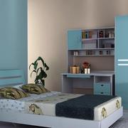 板式家具室内设计卧室图