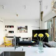 120平米欧式客厅休闲式设计