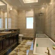 卫生间简约淋浴隔断