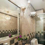 家装卫生间浪漫装饰