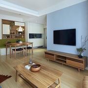 家庭客厅实木茶几电视柜