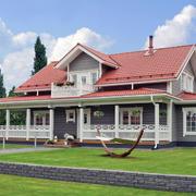 木屋别墅装修环境图