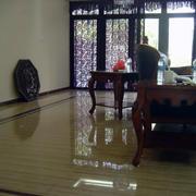 年年红木家具客厅装修地板图