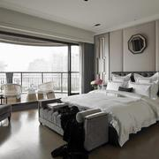 别墅家装卧室大阳台展示