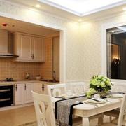 公寓简约风格厨房设计图