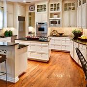 混搭欧式厨房橱柜效果图