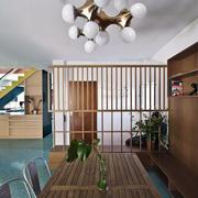 40平米木架展台玄关设计