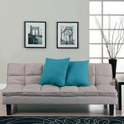 黑白装饰画客厅装修沙发图