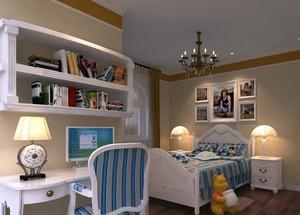 50平米欧式别墅儿童房装修效果图