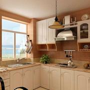 田园风格整体厨房橱柜装饰